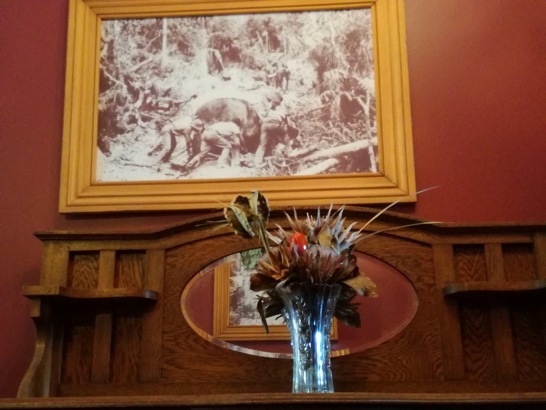 Hallway History at Horeke Hotel
